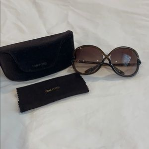 Tom Ford Sonja Sunglasses- Brown